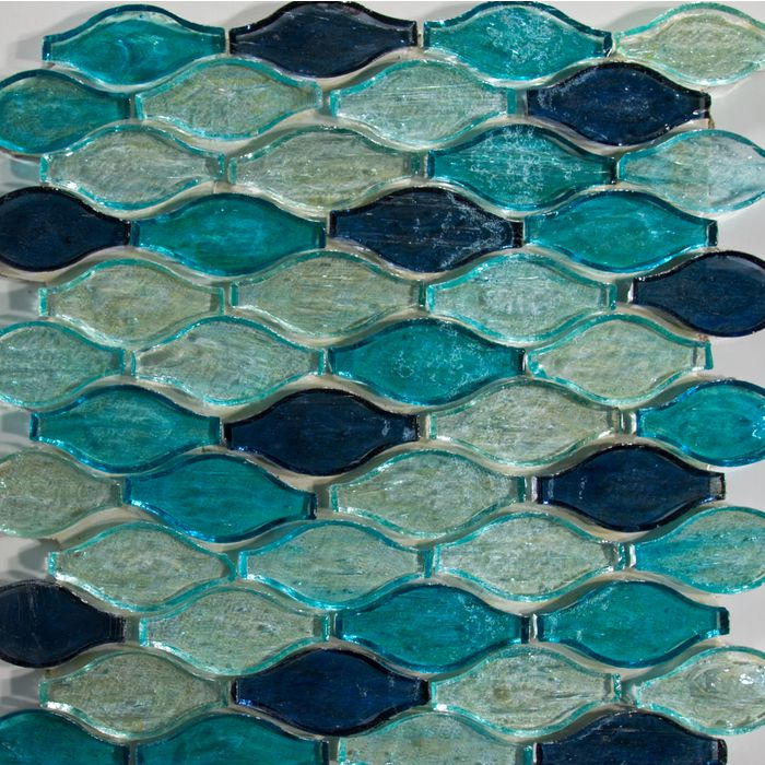 Gl Stone Unique Designs In And Mosaic Tiles Blue Violet Coloured