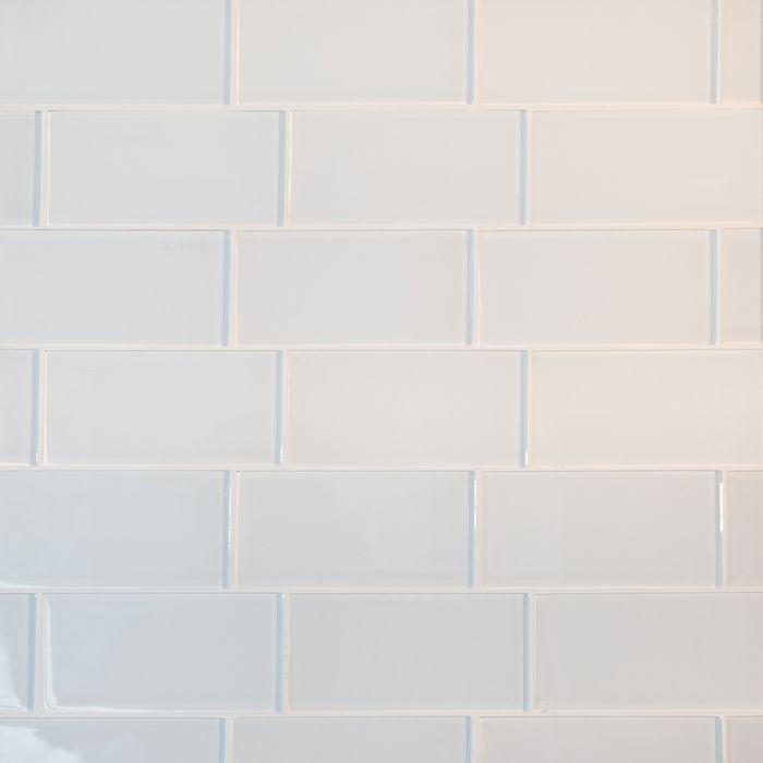 White Subway Gl Tile