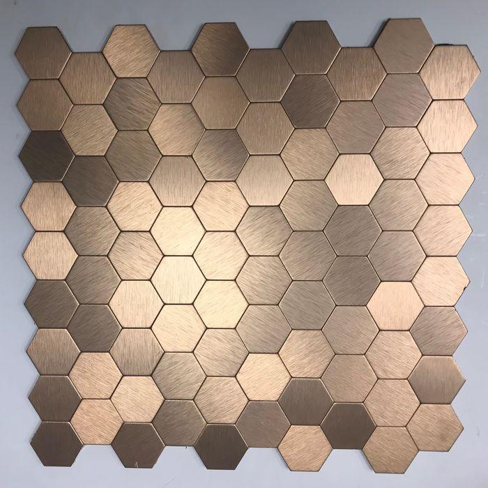 Gl Ah001 Metal Mosaic