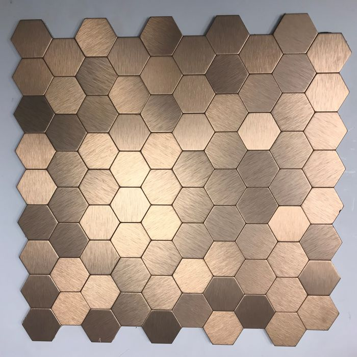 Gl Stone Unique Designs In And Mosaic Tiles Bronze Gold Coloured