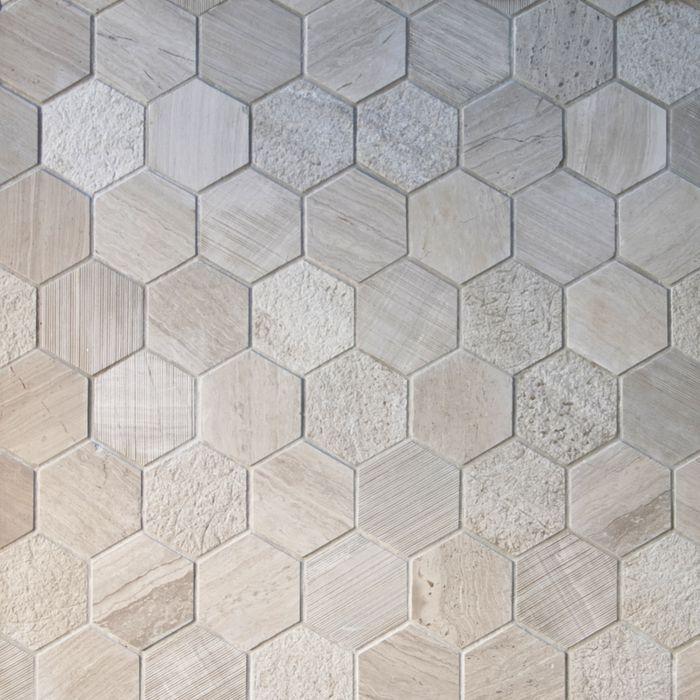 Gl Hemt7522 Natural Stone Mosaic