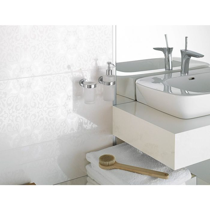 Gl Stone Unique Designs In And Mosaic Tiles White Coloured