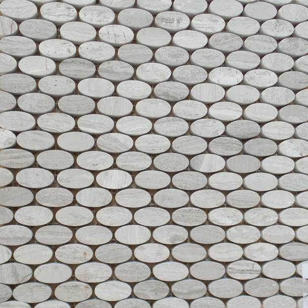 Gl Stone Unique Designs In And Mosaic Tiles Oval Pattern