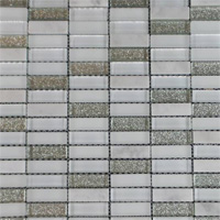 When A Clean Contemporary Look Is Desired Then Go Ahead And Stack It Mix Of Gl Other Tile Chips In Stacked Or Linear Configurations 1 Items