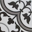 GL-BHBH400: ARABESQUE MATTE PORCELAIN DECOR TILE