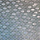 GL-H1024: BRUSHED METAL INSERTS WITH BLACK BACKED GLOSSY GLASS BRICK PATTERN MOSAIC