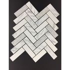 GL-HB003: CARRARA  MARRAKESH HERRINGBONE