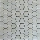 GL-HE2301X: POLISHED DANBA WHITE MOSAIC HEXAGON MOSAIC